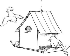 Bird feeders are easy to make and will draw a variety of birds to your backyard.