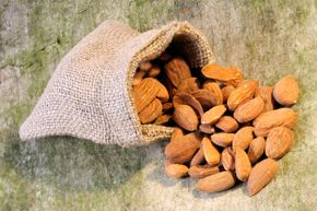 Bitter almonds, which differ from the sweet almonds more common in grocery stores, contain hydrogen cyanide.