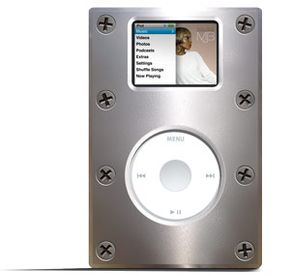 Some iPod owners will go out of their way to protect an MP3 player from damage.