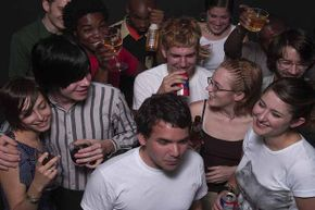 Apparently, college students drink a lot not because they're in college -- but because they're smarter than people who don't go to college.