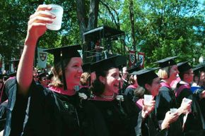 Harvard medical students toast their graduation with some wine. A study showed intelligent people were more likely to be binge drinkers. What other unusual connections have researchers studied?
