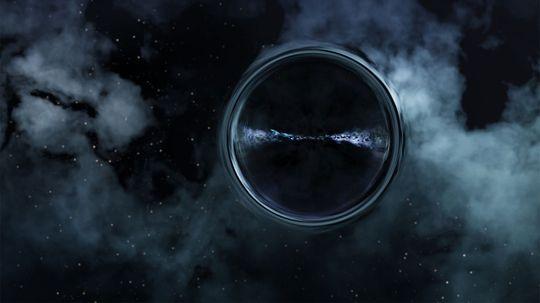 """科学家们有史以来第一次从黑洞后面发现光线""""border="""