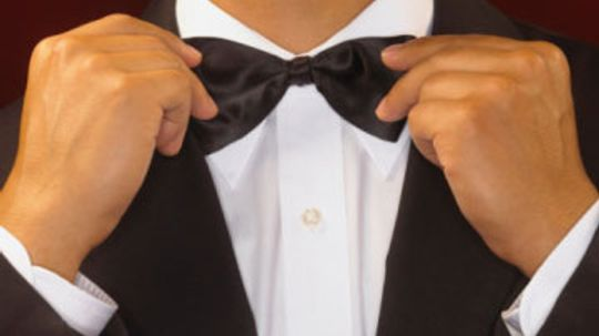 Is black tie ever really optional?