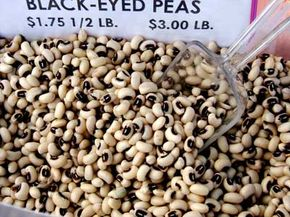 Black-eyed peas can take almost four months to grow.