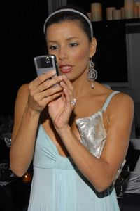 BlackBerry Messengers allows users to communicate remotely and instantly like Eva Longoria.