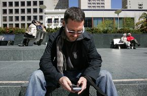 BlackBerry Messenger allows users to communicate with others remotely.