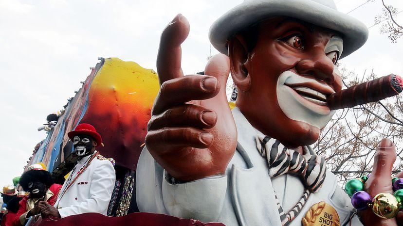 blackface at New Orleans Mardi Gras parade