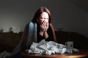 When you blow your nose, you're forcing air out of your nasal tubes, along with debris and mucus.