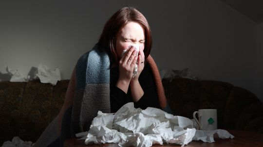 What happens when you blow your nose?