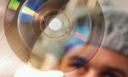 Blu-ray data reading is performed with a blue laser and at high speeds.