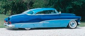 The Blue Danube earned its nickname from Sam Barris' paint scheme, which featured three distinct shades of blue.