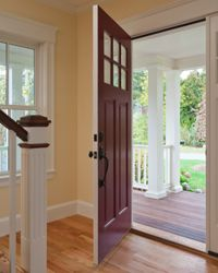 Thanks to Bluetooth, the Phantom Keyless Home Entry System automatically recognizes your phone when you're within range and unlocks the door for you.