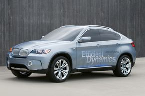 Hybrid Car Image Gallery The BMW X6 ActiveHybrid concept. See more pictures of hybrid cars.