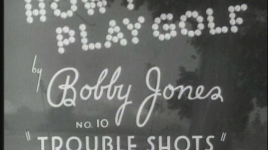 Bobby Jones: How I Play Golf