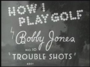 The original Bobby Jones golf films were released in the 1930s. See more Bobby Jones golf pictures.