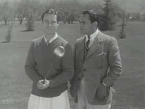 Joe B. Brown and Edward G. Robinson.