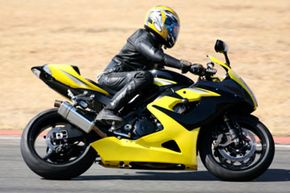 Image Gallery: Motorcycles It may seem like a lot to put on, but all that gear can really help protect you in a crash. See more pictures of motorcycles.