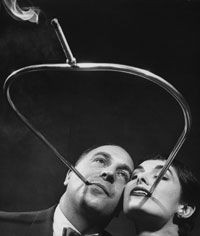 Smoking in the 1950s was a gas -- noxious, cancer causing gas. See more drug pictures.