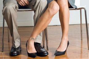 Using different forms of body language is the most common way men and women flirt with each other. See more relationship tips pictures.