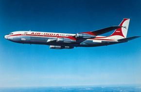 The Boeing 707 is a passenger jet first developed in the 1950s. It was one of the first commercially successful airliners. See more pictures of flight.
