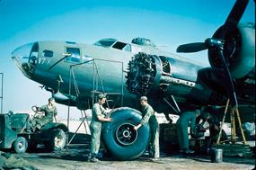 Ground crews were the unsung heroes of the Boeing B-17 story. These men kept the big bombers flying, even in the face of inadequate replacement parts and punishing flight schedules.