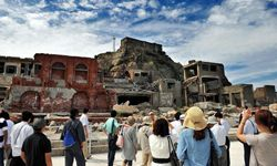 Although the last residents of Hashima Island left in 1974, visitors can still tour the former boom town.