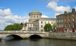 Dublin is hardly a ghost town, but the worldwide economic downturn in the 2000s slowed down the amazing growth the city experienced in the 1990s.