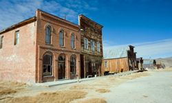 Bodie, Calif., took off after gold was discovered nearby in the 1870s. But as gold mining declined, so did the town.