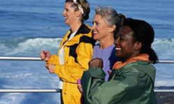 Active boomers can volunteer by hosting walk-a-thons and other events to raise money for community organizations.