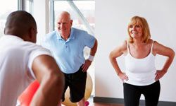 Staying fit and active is important for the overall health and longevity of baby boomers. See more healthy aging pictures.