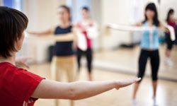 In classes such as yoga or Pilates, doing the exercises correctly is extremely important.