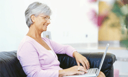 AARP's networking site is more about peer discussion than pics from the latest kegger.