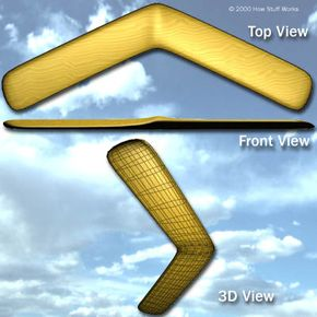 A boomerang is two wings combined in one unit.