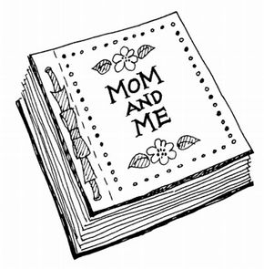 Any mom will treasure the Mom and Me Book.