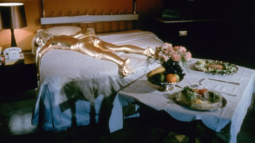 Shirley Eaton as Jill Masterson