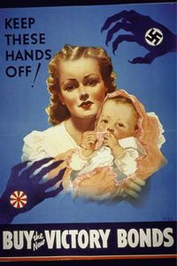 The U.S. governmentadvertisedits bonds heavily during World War II to help fund the war effort.