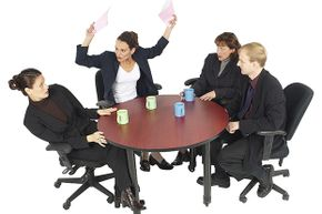 Scolding an employee in front of others is so bad for morale.