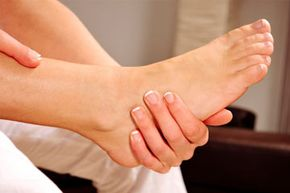 Flat feet can cause chronic muscle strain.