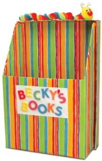 Store your favorites in this bookworm box craft.