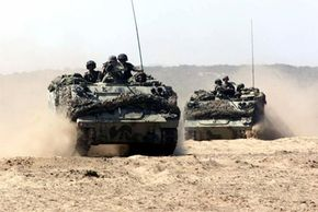 M113 Armored Personnel Carriers