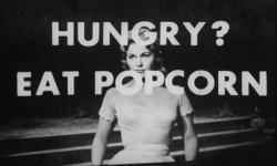 """Kim Novak wants you to buy popcorn when you watch """"Picnic."""""""