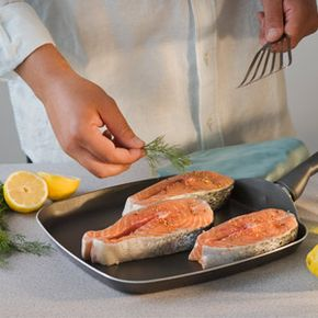 Salmon is delicious and good for you.