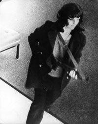 Patty Hearst on surveillance camera
