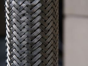 Not only are braided steel brake lines functional -- they're good-looking, too.