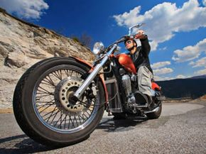 Motorcycle riders typically don't have the luxury of a brake proportioning valve. It takes practice to learn how to slow or stop a motorcycle safely.