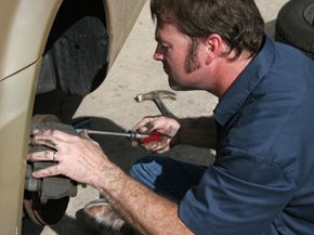 Although it may be nothing, you should have a mechanic check out your breaks if they're squeaking. See more brake pictures.
