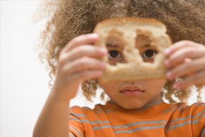 Eating bread crust might not curl your hair, but it may be good for your health.