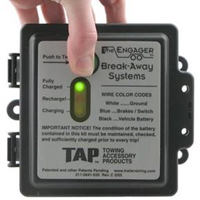 Mounting a breakaway kit is a simple task with the right tools, but if you're not used to working with electrical wiring, you might want to opt for professional installation.