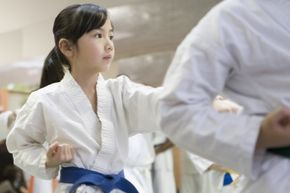 Is it worth it to teach our children how to break boards in karate class?