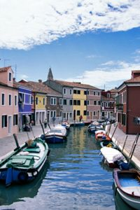 Revisit the canals of Venice every night.